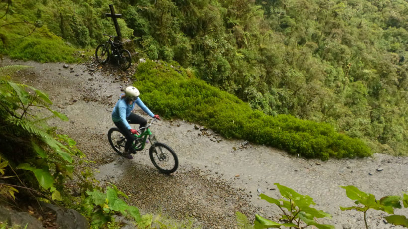Biking en Coroico (full day)